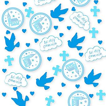 Amscan Communion Church Blue Confetti