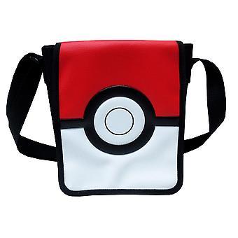 Pokémon Pokeball Shoulderbag Axelväska Väska 20cm