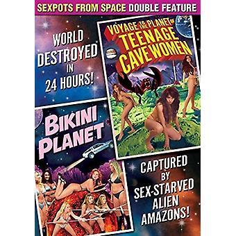 Sexpots från rymden Dbl funktion: Voyage [DVD] USA import