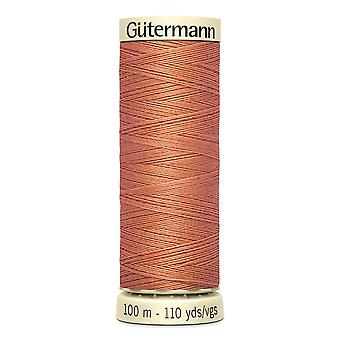 Gutermann Sew-all 100% Polyester Thread 100m Hand and Machine Colour Code  - 377