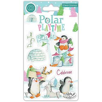 Craft Consortium Polar Playtime Clear Stamps