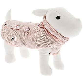 Ferribiella Sweater Pin-Up Cm.24 Pink (Hunde, Hund Tøj , Frakker og kapper)
