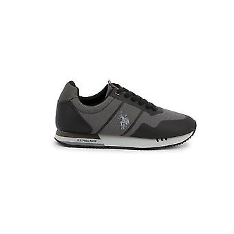 U.S. Polo Assn. - Shoes - Sneakers - CORAD4247W9_TS1_BLK - Men - black,dimgray - EU 45