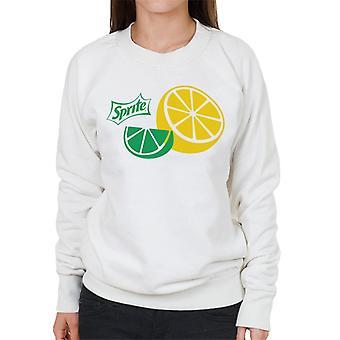 Sprite Lemon Slice Women es Sweatshirt