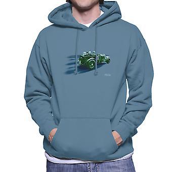 Vintage Bentley on Le Mans Kilpa raitoja miesten hupullinen pusero