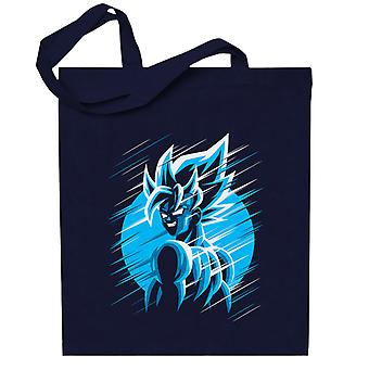 Dragon Ball Z Goku Blå måne Totebag
