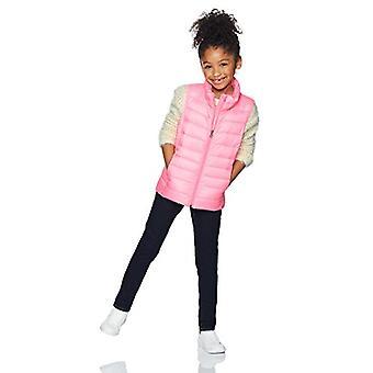 Essentials Big Girls' Lightweight Water-Resistant Packable Puffer Vest...