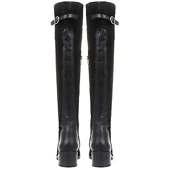 Jones Bootmaker Womens Leather Over-the-Knee Boots
