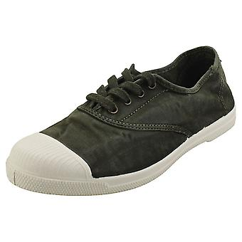 Natural World Old Lavanda Womens Casual Shoes in Khaki