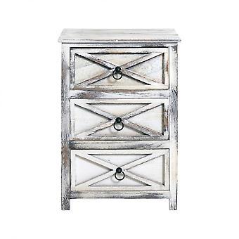 Rebecca Furniture Drawer Vintage Wood Wood 3 Drawers 64x45x30