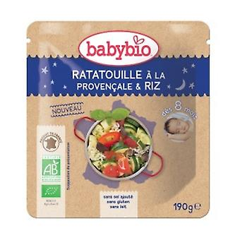 Good Night Doypack Ratatouille Provençale Organic Rice (from 8 months) 190 g