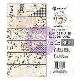 Prima Marketing Spring Maalaistalo 6x6 Tuuman Paperityyny