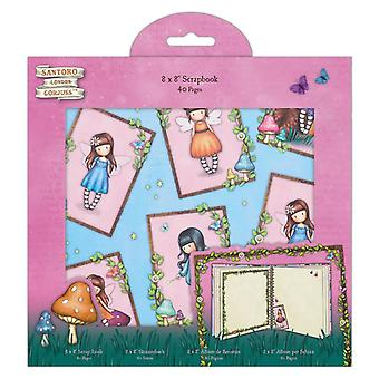 Gorjuss Faerie Folk 8 x 8 Zoll Scrapbook Album
