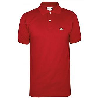 Lacoste Classic L1212 Red Polo Shirt