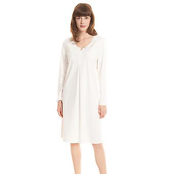 Féraud High Class 3201180-11697 Women's Ivory Cotton Nightdress