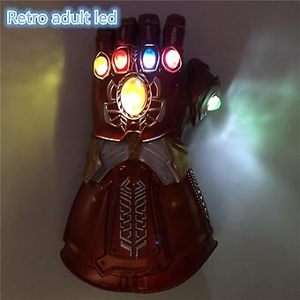 The 4 Endgame Thanos Led Gauntlet Stones War Led Glove Kids&adult Halloween Gift Cosplay