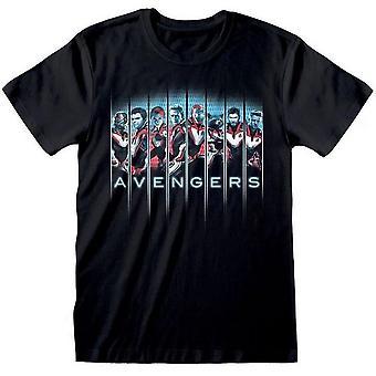 Avengers Endgame Unisex Aikuisten Kokoonpano T-paita