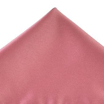 Ties Planeta Plain Dark Mauve Pink Pocket Square Handkeref