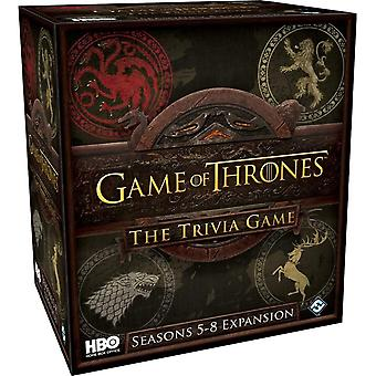 Seasons 5-8 Expansion Pack: HBO Game of Thrones Trivia Game