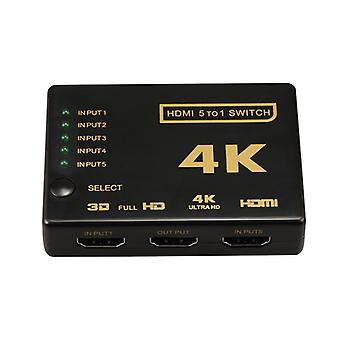 HDMI Switch 5x1 - 4K2K / 3D with remote