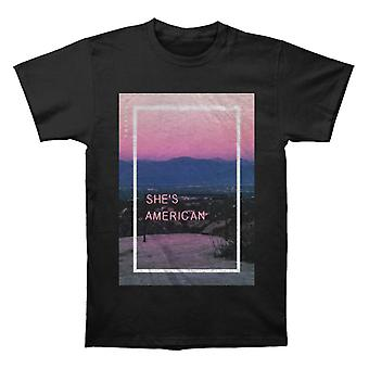 The 1975 She's American T shirt
