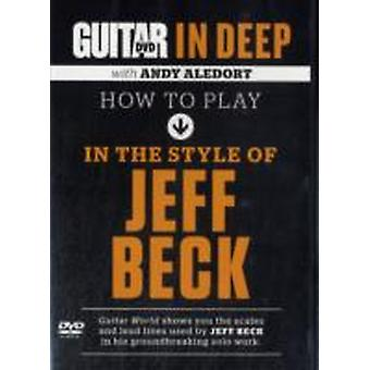 HOW TO PLAY IN THE STYLE OF JEFF BECK by ALEDORT & ANDY