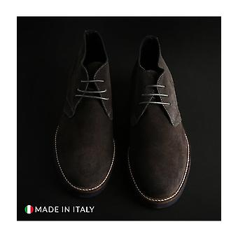 Madrid - Shoes - Lace-up shoes - 101_CAMOSCIO_GRIGIO - Men - dimgray - EU 41