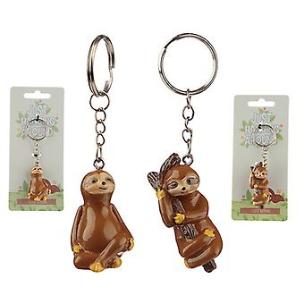 Fun Collectable Sloth Keyring X 1 Pack
