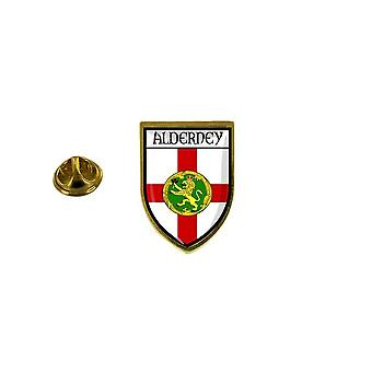 pine pine pine badge pine pin-apos;s souvenir city flag country coat of arms aurigny