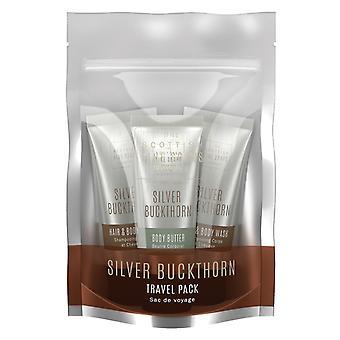 Silver Buckthorn Travel Pack door Schotse Fine Soaps