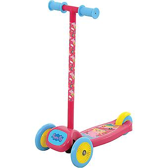 Peppa Pig Tilt & Turn Scooter - Roze