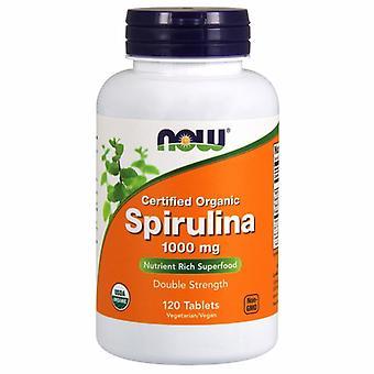 Now Foods Organic Spirulina, 1000 mg, 120 Tabletten