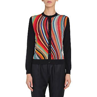 Ps By Paul Smith W2r800ke3062549 Women's Multicolor Wool Cardigan