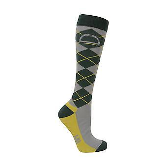 HyFASHION Unisex Adult Elegant Stirrup and Bit Socks (Pack of 3)