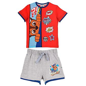Paw patrol boys outwear set top and shorts