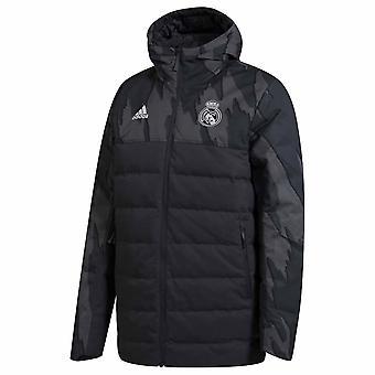2020-2021 Real Madrid SSP Dunjacka (Mörkgrå)