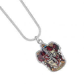 Harry Potter Silver Plated Necklace Gryffindor