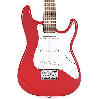 Squier mini stratocaster dakota rood