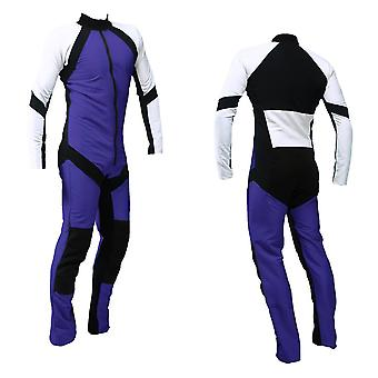 Freefly skydiving suit purple-white se-09