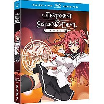 Testament of Sister New Devil Burst: Ssn 2 & Ova [Blu-ray] USA import