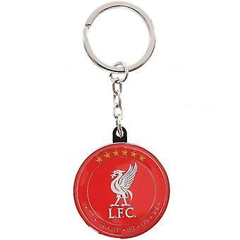 Liverpool 6 Stars Keyring