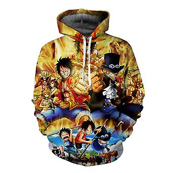 One Piece Luffy Cosplay Anime Print 3d Men & Women Hoodie