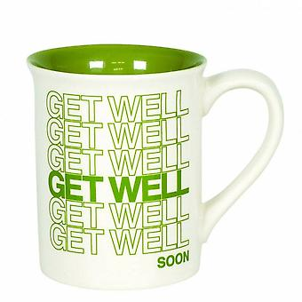 Our Name Is Mud Get Well Type Mug