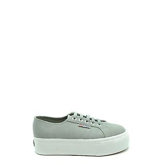 Superga Ezbc152003 Women's Grey Suede Sneakers