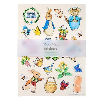 Peter Rabbit Sticker Sheets with 200 stickers / Beatrix Potter / Crafts