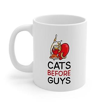 Cats Before Guys Mug