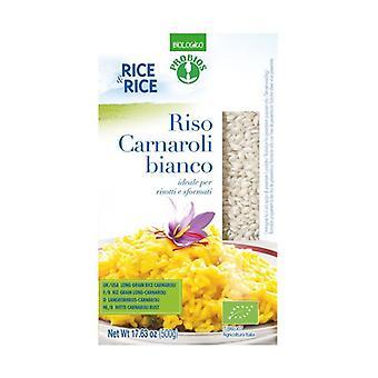 Fine white carnaroli rice None