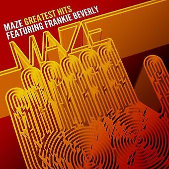 Maze & Frankie Beverly - Greatest Hits: 35 års själ [CD] USA import