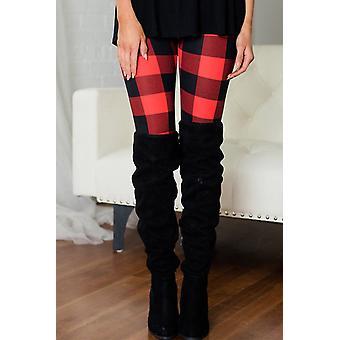 Fashion Plaid Leggings