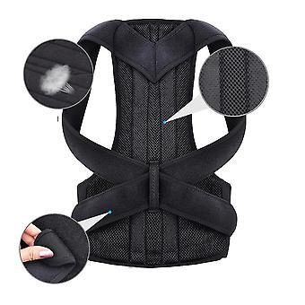 ウエストトレーナーバック姿勢矯正肩腰椎ブレース脊椎サポートベルト